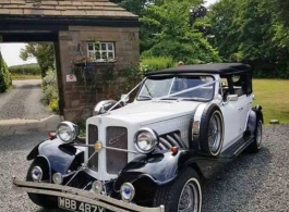 Beauford wedding car for hire in Barnsley